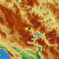 Nearby Forecast Locations - Prozor-Rama - Map