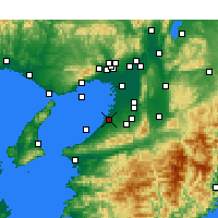 Nearby Forecast Locations - Izumi - Map