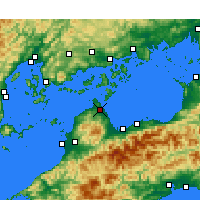 Nearby Forecast Locations - Imabari - Map