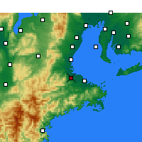 Nearby Forecast Locations - Matsusaka - Map