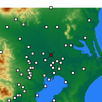 Nearby Forecast Locations - Noda - Map