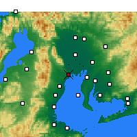 Nearby Forecast Locations - Kuwana - Map
