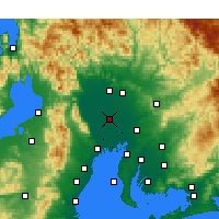 Nearby Forecast Locations - Inazawa - Map
