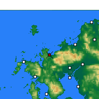 Nearby Forecast Locations - Karatsu - Map