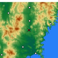 Nearby Forecast Locations - Ichinoseki - Map