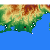 Nearby Forecast Locations - Kakegawa - Map