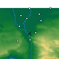 Nearby Forecast Locations - Shubra El-Kheima - Map