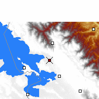 Nearby Forecast Locations - Achacachi - Map