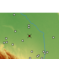 Nearby Forecast Locations - Saavedra - Map
