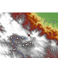 Nearby Forecast Locations - Colomi - Map
