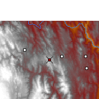 Nearby Forecast Locations - Tarabuco - Map