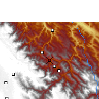 Nearby Forecast Locations - Coripata - Map