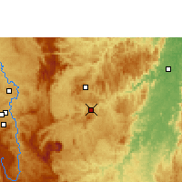 Nearby Forecast Locations - João Monlevade - Map