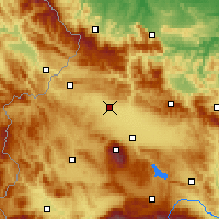 Nearby Forecast Locations - Kostinbrod - Map