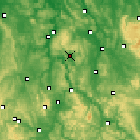 Nearby Forecast Locations - Uslar - Map