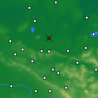 Nearby Forecast Locations - Rahden - Map