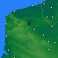 Nearby Forecast Locations - Longuenesse - Map