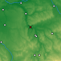 Nearby Forecast Locations - Joigny - Map