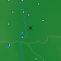 Nearby Forecast Locations - Hódmezővásárhely - Map