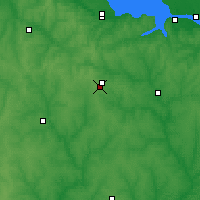 Nearby Forecast Locations - Znamianka - Map