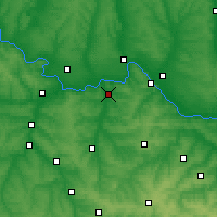 Nearby Forecast Locations - Siversk - Map