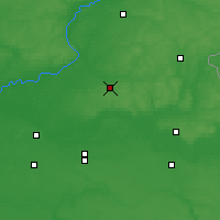 Nearby Forecast Locations - Krolevets - Map