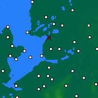 Nearby Forecast Locations - Lemmer - Map