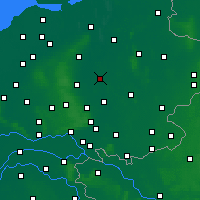 Nearby Forecast Locations - Deventer - Map