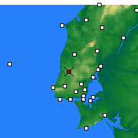 Nearby Forecast Locations - Mafra - Map
