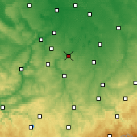 Nearby Forecast Locations - Zeitz - Map
