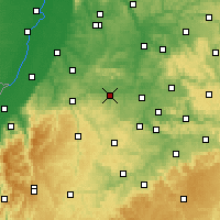 Nearby Forecast Locations - Vaihingen an der Enz - Map