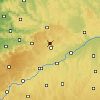 Nearby Forecast Locations - Heidenheim an der Brenz - Map