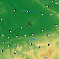 Nearby Forecast Locations - Beckum - Map