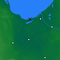 Nearby Forecast Locations - Jūrmala - Map