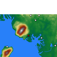 Nearby Forecast Locations - Tiko - Map