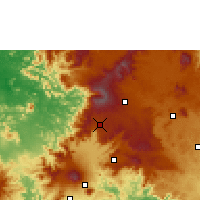 Nearby Forecast Locations - Dschang - Map