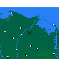 Nearby Forecast Locations - Dekernes - Map