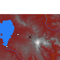 Nearby Forecast Locations - Debre Tabor - Map