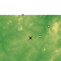 Nearby Forecast Locations - Berekum - Map
