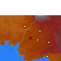 Nearby Forecast Locations - Lugulu - Map