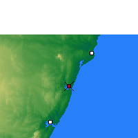 Nearby Forecast Locations - Kilifi - Map