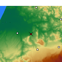 Nearby Forecast Locations - Sidi Kacem - Map