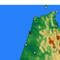 Nearby Forecast Locations - Asilah - Map