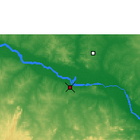 Nearby Forecast Locations - Pategi - Map