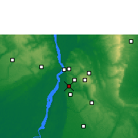 Nearby Forecast Locations - Ozubulu - Map
