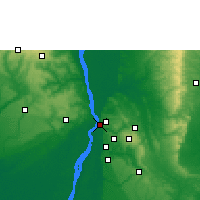 Nearby Forecast Locations - Onitsha - Map
