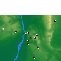 Nearby Forecast Locations - Nnewi - Map
