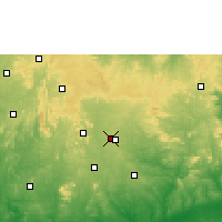 Nearby Forecast Locations - Ise Ekiti - Map