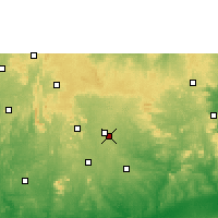 Nearby Forecast Locations - Emure - Map