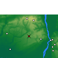 Nearby Forecast Locations - Agbor - Map